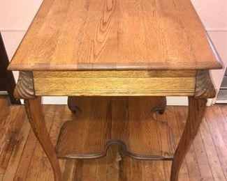 Antique Oak Stand https://ctbids.com/#!/description/share/292030