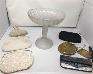 Various Vintage / Antique Purses with Bowl https://ctbids.com/#!/description/share/292039