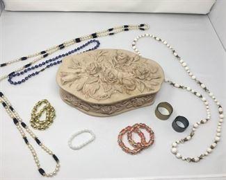 Jewelry Box and Costume Jewelry https://ctbids.com/#!/description/share/292041