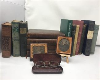 Tin Types, Antique Books and Eyeglass Frames https://ctbids.com/#!/description/share/292047