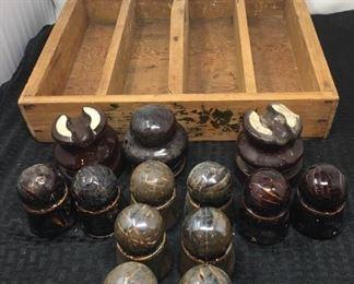 Insulators and Wooden Box https://ctbids.com/#!/description/share/292078