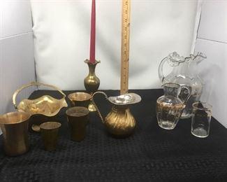 Brass & Glass Antique Items https://ctbids.com/#!/description/share/292095