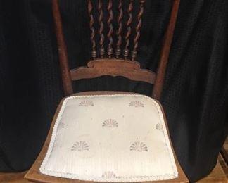 Antique Wooden Chair https://ctbids.com/#!/description/share/292097