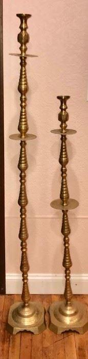 Vintage Brass Candlesticks https://ctbids.com/#!/description/share/292122