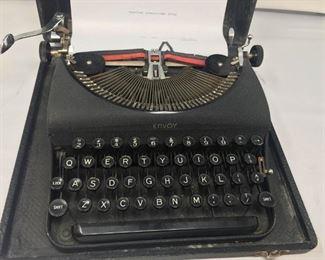 Antique Portable Typewriter  https://ctbids.com/#!/description/share/292042