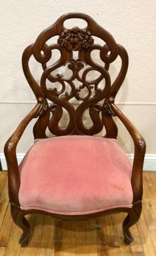 Antique Wooden Chair https://ctbids.com/#!/description/share/292054