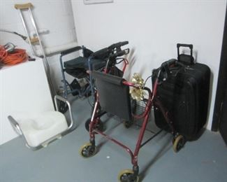 Wheelchair, walkers etc.