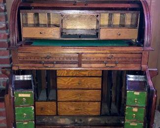 Wooton Style Cylinder Desk Base