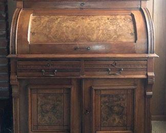 Wooton Style Cylinder Desk