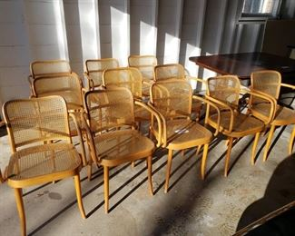 Ligna Cane Back and Seat Chairs