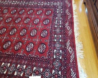 Wool Pile Area Rug from Pakistan