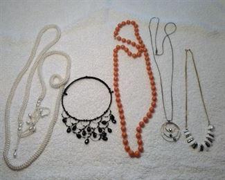 retro necklaces