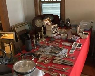 Lots of Silver.. Sterling and Plate. Lots of Jewelry.. Fine and Vintage