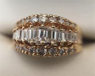 1-Carat Diamond Ring (14kt Yellow Gold) https://ctbids.com/#!/description/share/291562