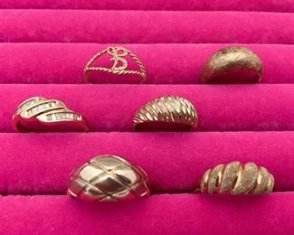 14k Gold Rings https://ctbids.com/#!/description/share/291590