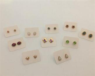 "14k and ""Stones"" Stud Earrings https://ctbids.com/#!/description/share/291608"
