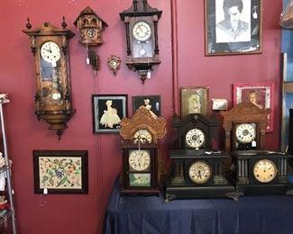 Beautiful well cared for clocks. Wall, Mantel, Cuckoo cuckoo Clocks