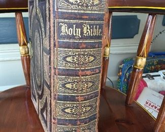 Family Bible from 1800s