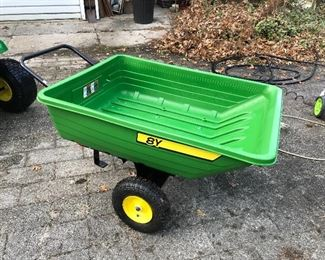 John Deere 8Y Poly Dump cart.  Never used.