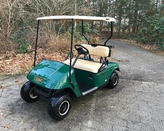 EZ Go by Club Car golf cart.  Batteries and wheels 8 months old.