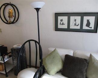 decor, floor lamp