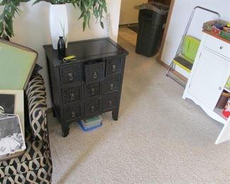 9 drawer cabinet. white storage cabinet