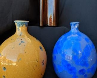 Local, One of a Kind Ceramic Vases