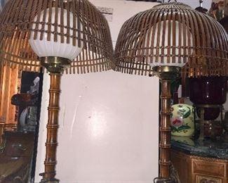 Mid-Century 3pc Lamps - 70's