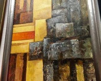 Original Signed Abstract Art