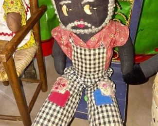 Collection of Vintage Cloth Dolls