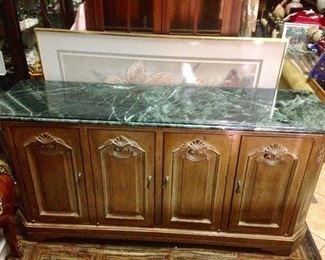 Vintage Console/Buffet Cabinet