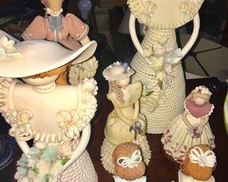 No Face Ceramic Dolls