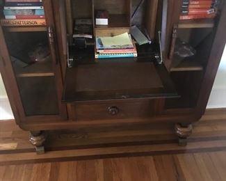 antique secretary desk $800