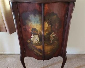 Hand Painted Music Sheet Cabinet