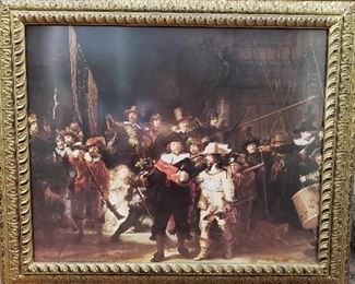 The Night Watch Rembrandt Reproduction Painting