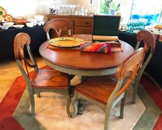 Pier One solid wood dining set