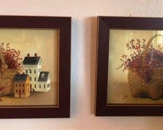 Many wall decor items such as these!