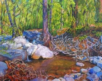 83 The Force of Water I 48 x 60 Oil on Linen