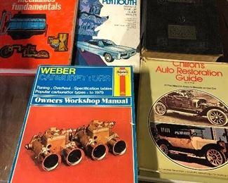 INFORMATIONAL CAR BOOKS