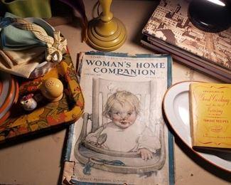vintage, magazine, Duncan Hines, Woman's Home Companion, trays
