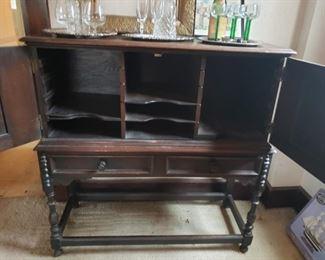 Antique, desk, bar