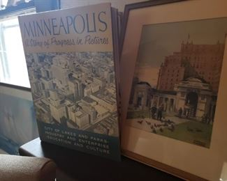 Minneapolis, books, old
