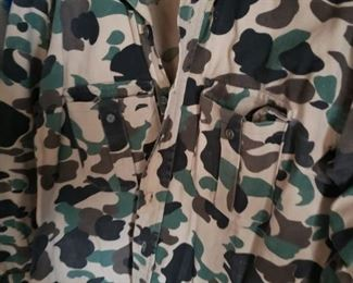 Hunting, jacket, camouflage, green, Men's