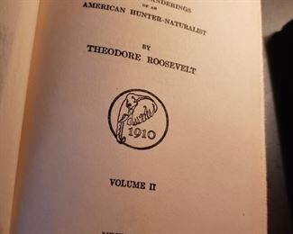 Africa Game Trails, books, Theodore Roosevelt, Charles Scribner's Sons, American Hunter-Naturalist