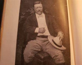 Theodore Roosevelt, photo, book