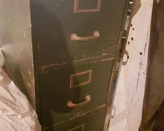 file drawers, World War II, organize, green, army