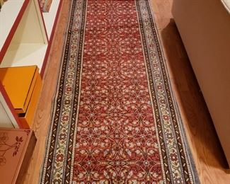Turkish hall runner, appr. 9 feet 8 inchs by 31 inches wide