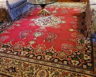 Persian handmade room rug, appr. 13  feet by 10 feet 3 inches