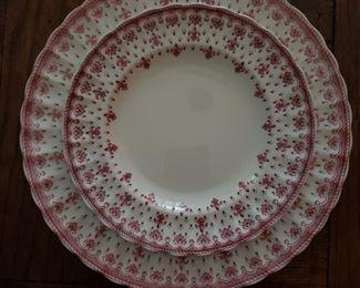 "Spode Copeland ""Fleur De Lis"" dinner service, 122 pieces"