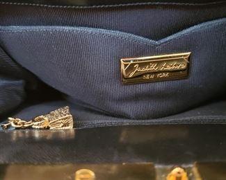 Inside of Judith Leiber bag